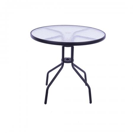 Patio Table 60cm Graphite Top