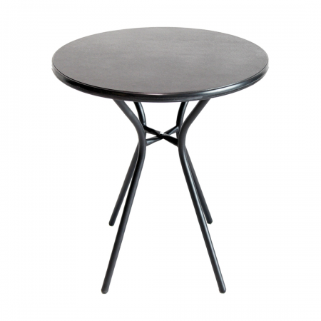 Polymer Table Black Top